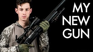 MY NEW SNIPER - Novritsch Airsoft Sniper REVEAL - SSG24