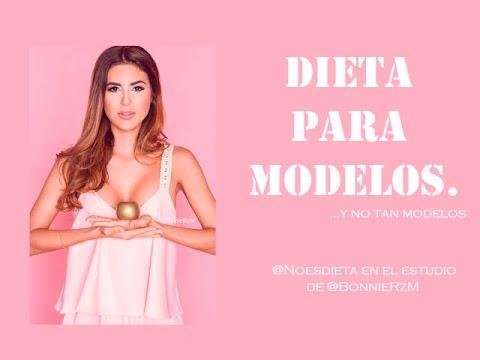 Dieta para modelos. Flaca y con piel brillante @Noesdieta en @BonnieRzMstudio