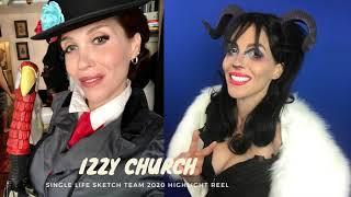 Single Life Sketch Team Presents 2020 Highlight Reel for Izzy Church