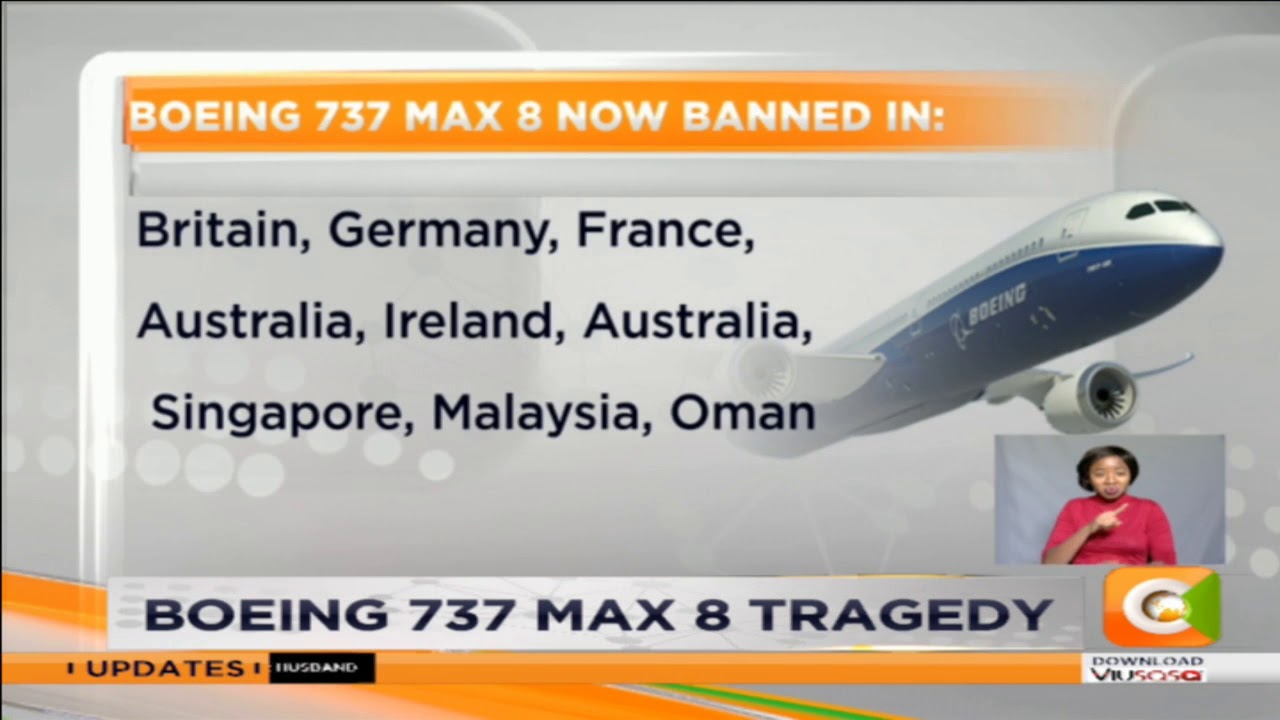Growing number of countries ban Boeing 737 Max 8