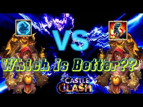 Bulwark Grimfiend Vs Stone Skin Grimfiend_ Which One Is Better??__Castle Clash