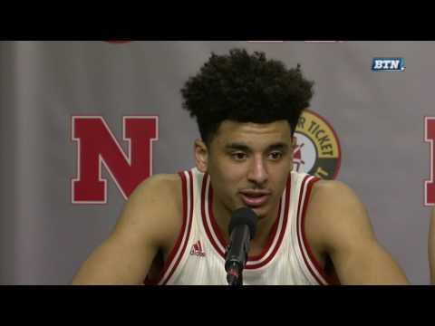 Nebraska Players - Post-Game Press Conference vs. Penn State