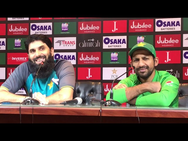 Misbah and Sarfraz complete last press conference after white wash