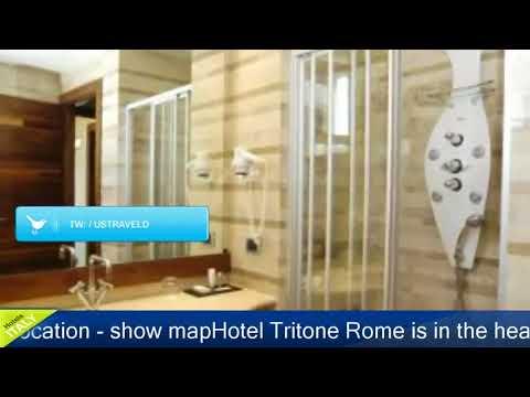 Hotel Tritone Rome - Rome Hotels, Italy