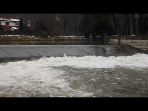 Leine River Hannover