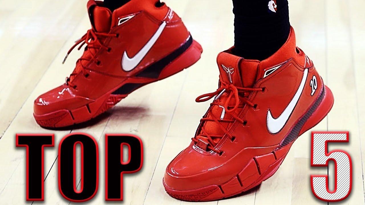 df5a27767603 Top 5 Nike Kobe 1 Protro PE Colorways - YouTube