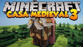 minecraft casa medieval uma