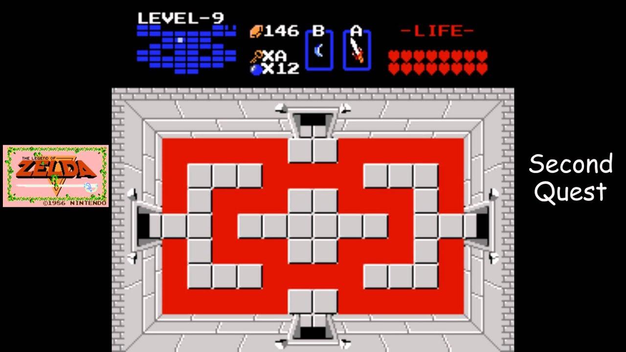 Legend of Zelda [NES] Playthrough #21, Quest 2, Level 9: Ganon