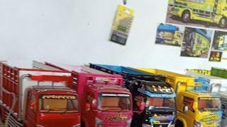 Lagi lagi Finish Miniatur truk 23 Unit