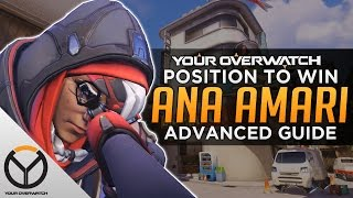 Game | Overwatch Advanced Ana Guide Position To Win | Overwatch Advanced Ana Guide Position To Win