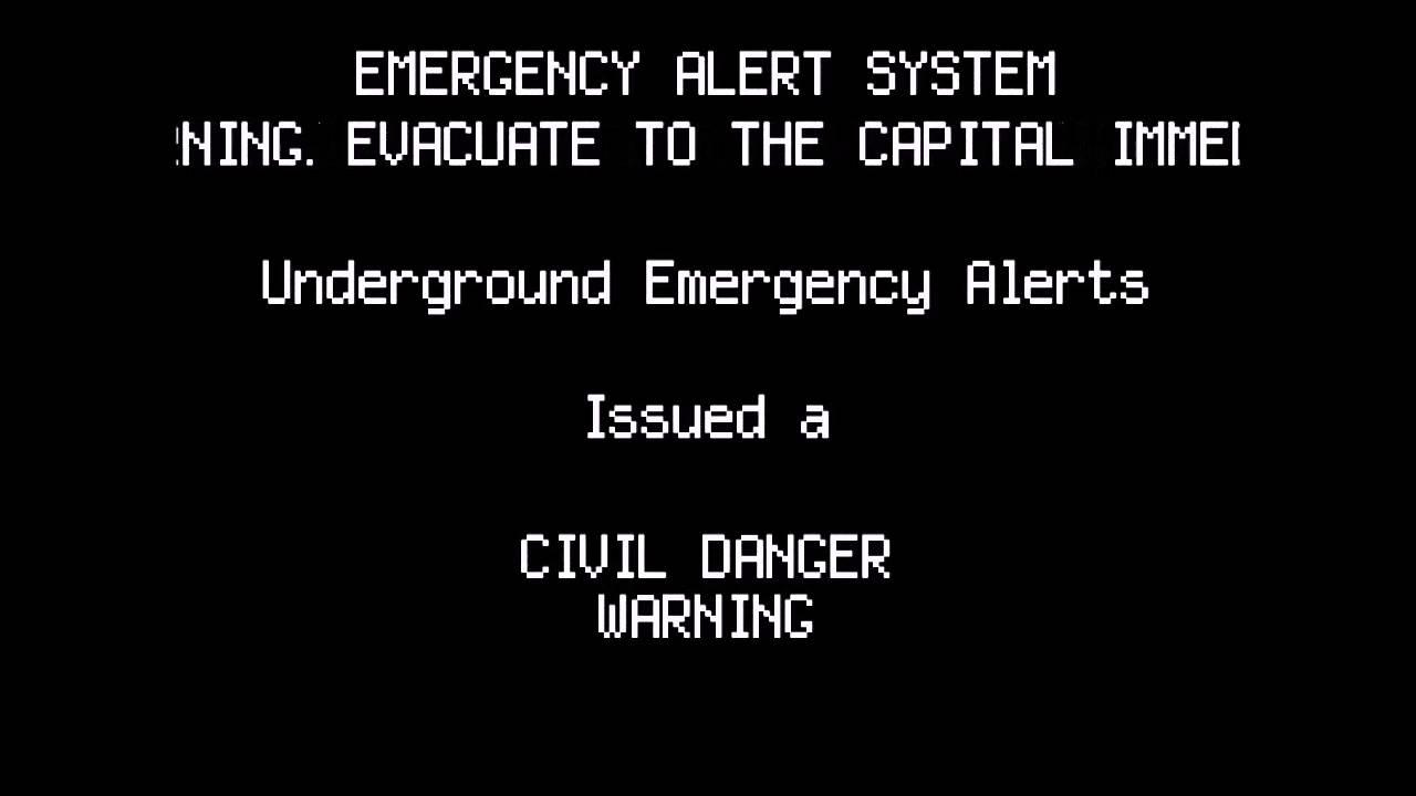Undertale EAS Warning - GENOCIDE (reupload)