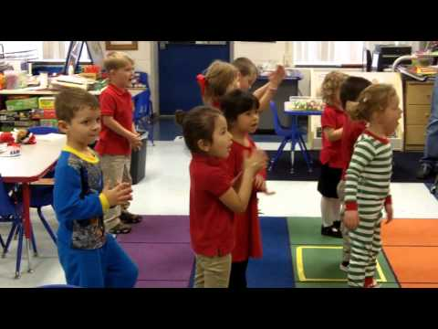 PreK Ready for the weekend song