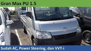 Daihatsu Gran Max 1.5 PU AC + PS review - Indonesia