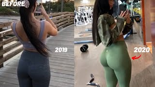 MY FULL GLUTE WORKOUT/ How I grew my butt in a year