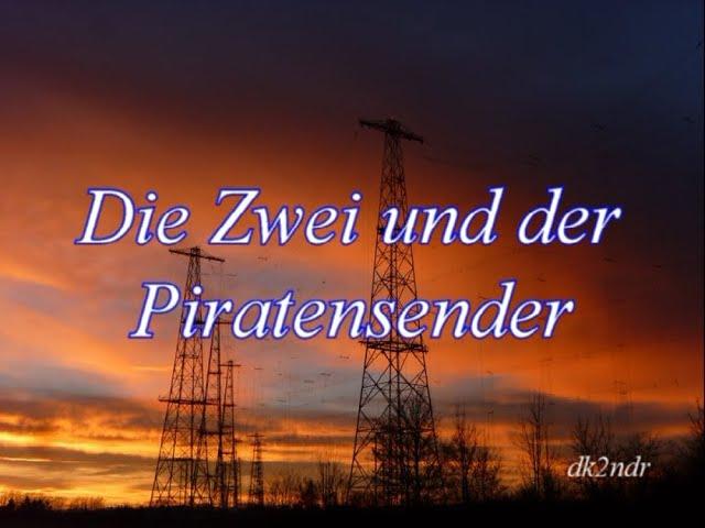 Die Zwei und der Piratensender - Ham-Radio VW T3 Peilwagen Amateurfunk dk2ndr Radio DARC VW-T3