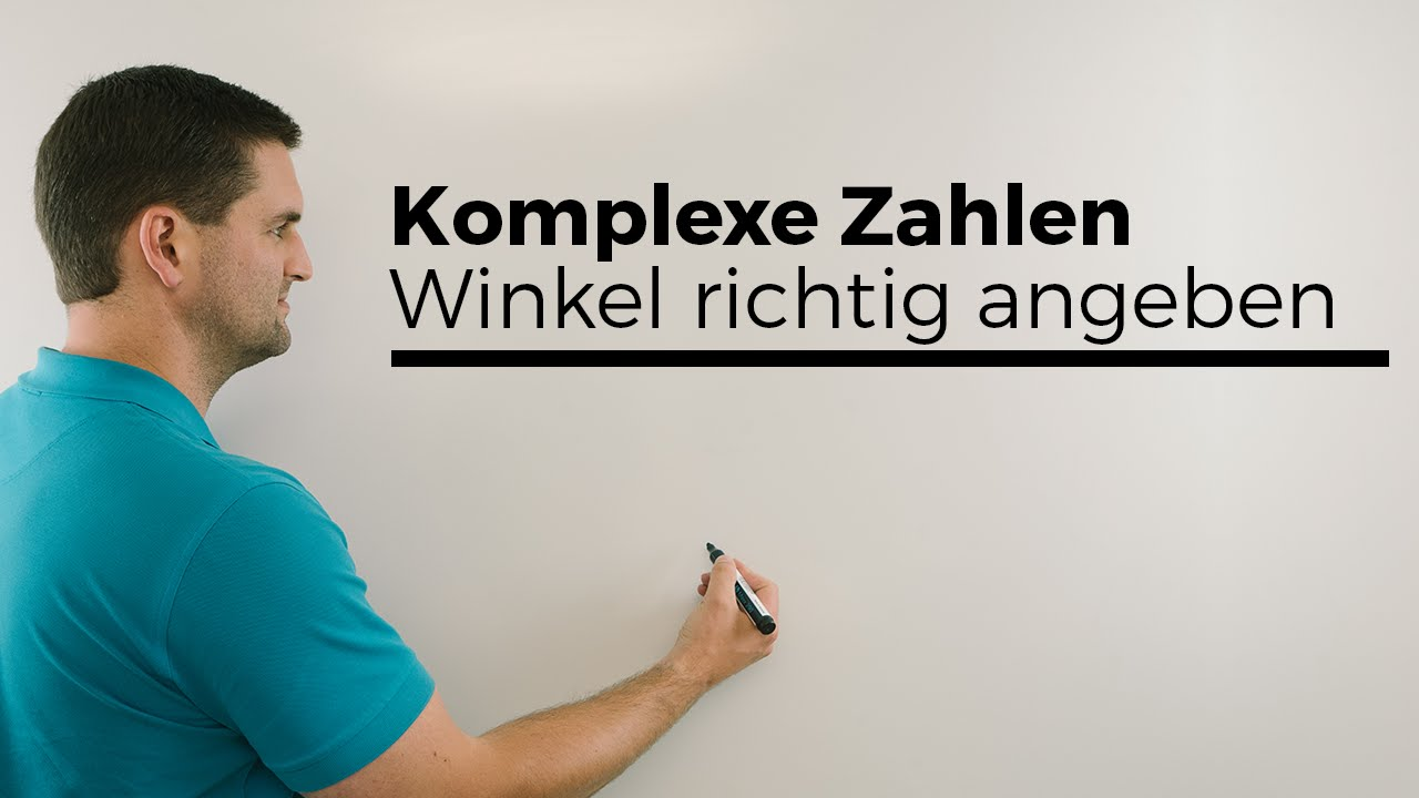 komplexe zahlen achtung winkel richtig angeben tan beziehungen mathe by daniel jung youtube. Black Bedroom Furniture Sets. Home Design Ideas