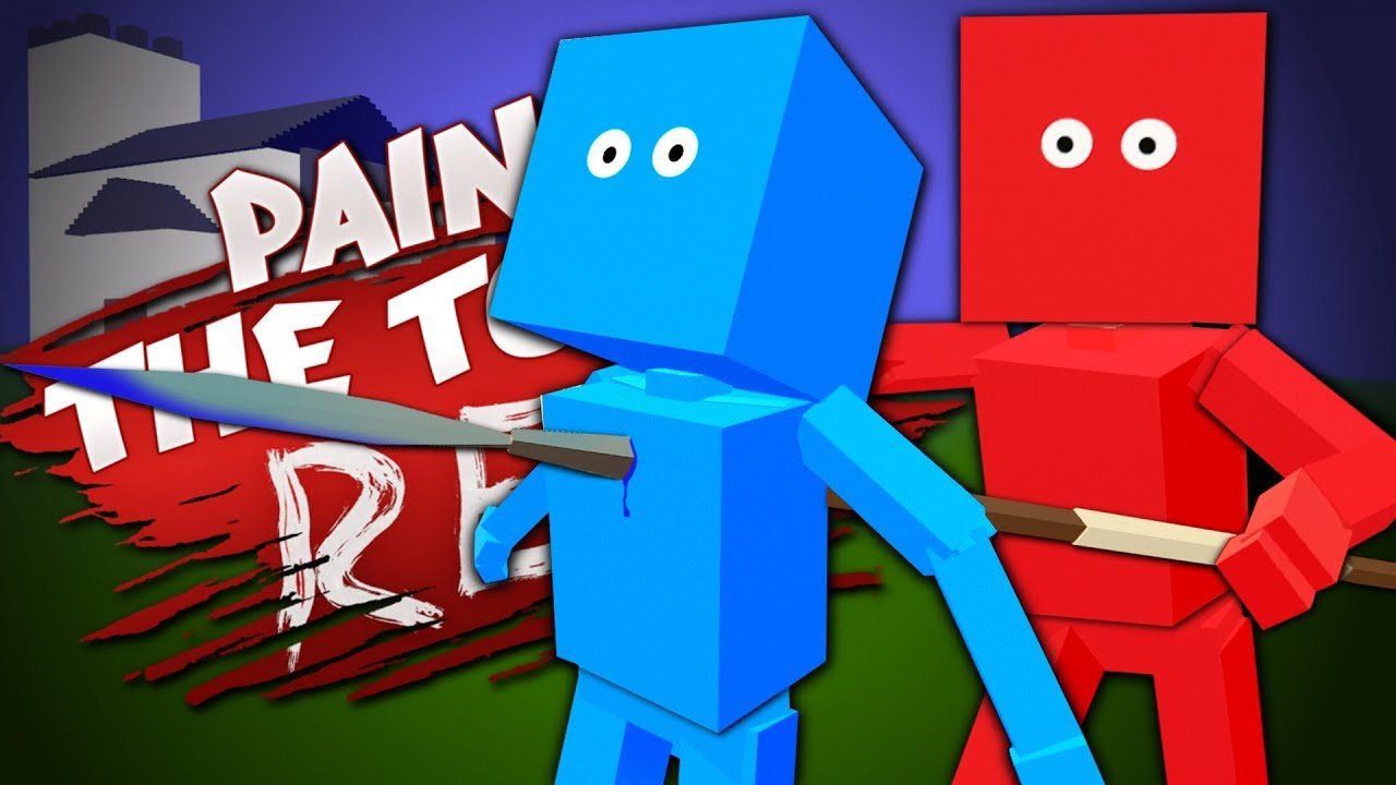 TOTALLY ACCURATE OOF SIMULATOR - Best User Made Levels - Paint the Town Red