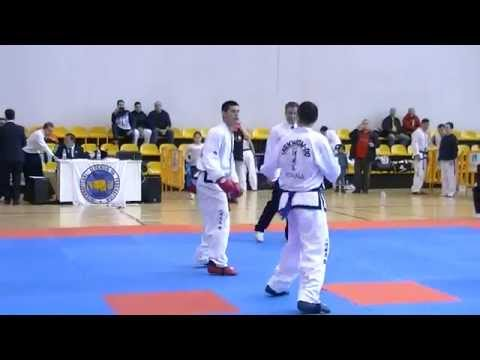Madrid Open 2014 Taekwon-do ITF -85 Kg Alexis Vicedo VS Fran Garcia semifinal