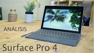 Análisis Surface Pro 4, review en español