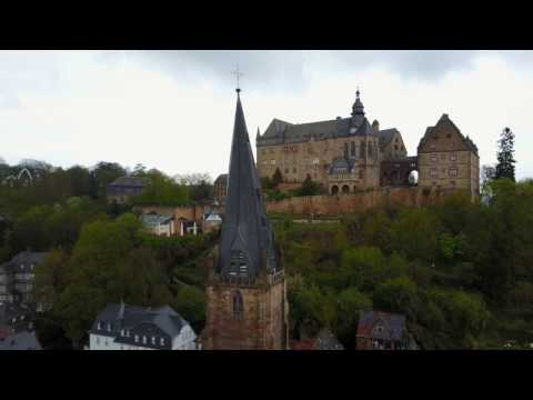 The Beautiful Marburg Germany (DRONE)