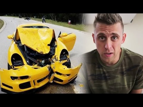 Thumbnail: YouTuber CRASHED Head On Into Porsche, Roman Atwood NOT PAID? YouTube Advertisers COMING BACK