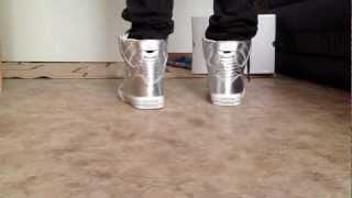 Supra Skytop Silver NS On Feet (July
