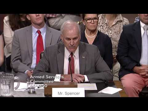 July 11, 2017: Secretary of the Navy Confirmation Hearing