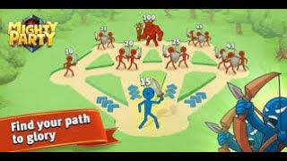 How to play Mighty Party / Gameplay Walkthrough (Andriod) screenshot 1