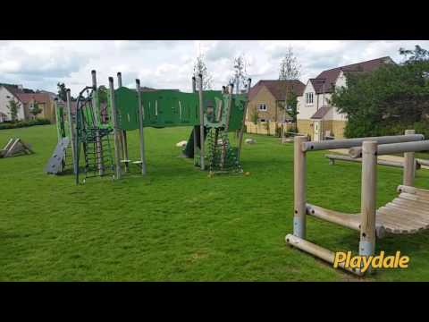 Playdale Playgrounds - Redrow Homes Housing Development At Sutton Benger, Wiltshire