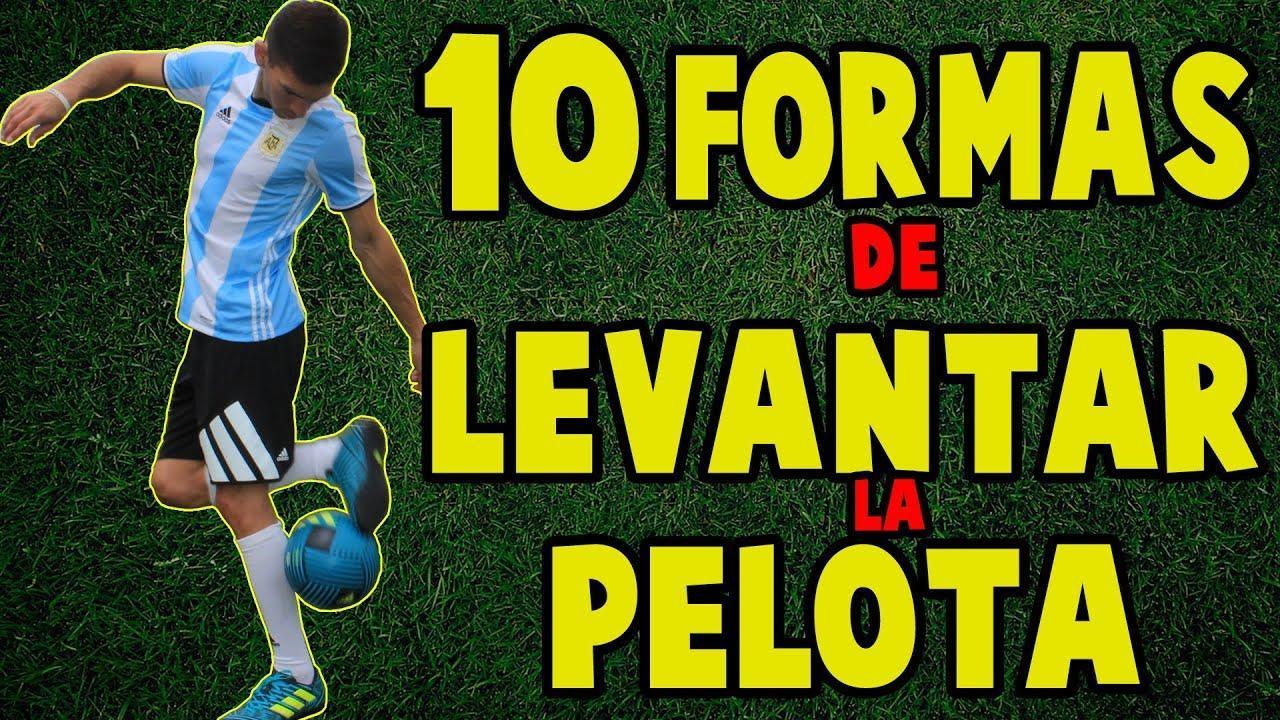 10 Formas Increibles De Levantar La Pelota Aprende Trucos De Futbol
