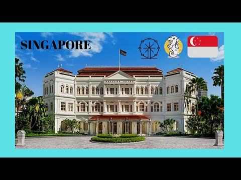 SINGAPORE, the world famous and very luxurious RAFFLES HOTEL