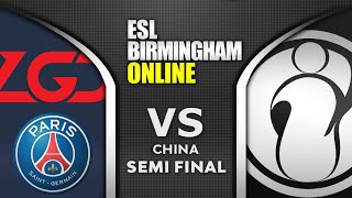 PSG.LGD vs IG - SEMI FINAL - ESL One Birmingham 2020 China Highlights Dota 2