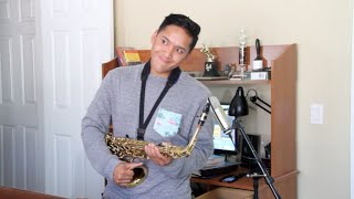 Chris Brown - Ayo - (Saxophone Cover by Abednego Tamba)