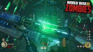 WW2 ZOMBIES - EARLIEST EASTER EGG COMPLETION EVER!!! (Call of Duty WW2 Zombies)