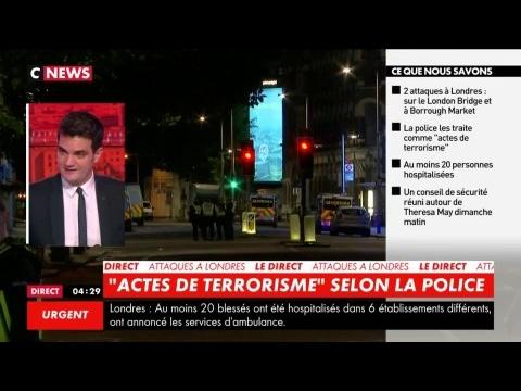 Attentat de Londres : le point sur les dernières informations