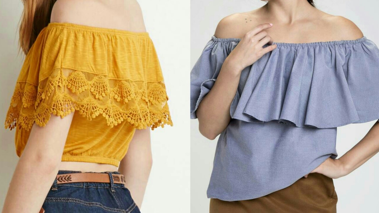 Off Shoulder Top Diy Off Shoulder Top Drafting Cutting And Stitching Step By Step Tutorial