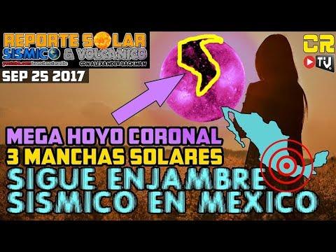 (((SIGUE ENJAMBRE SISMICO EN MÉXICO))) REPORTE SOLAR SISMICO Y VOLCANICO CON ALEX BACKMAN