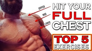 TRAINING YOUR ENTIRE CHEST | Top 5 Exercises & Corrections | FIX WEAK POINTS (CHEST DAY)