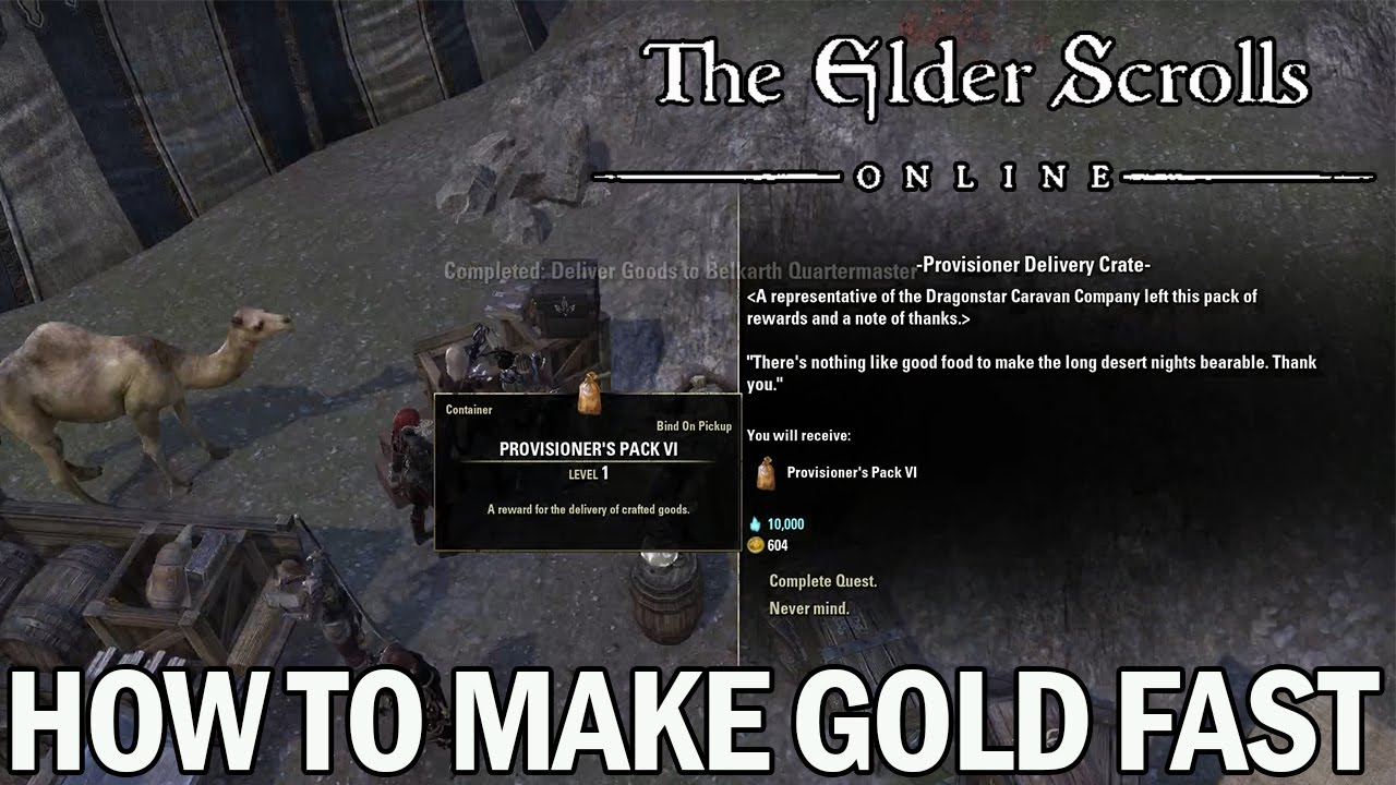 How to make gold fast in the elder scrolls online beginners guide how to make gold fast in the elder scrolls online beginners guide forumfinder Images