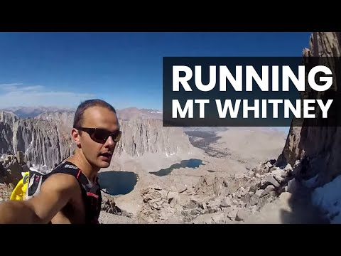 Running to the top of Mt Whitney