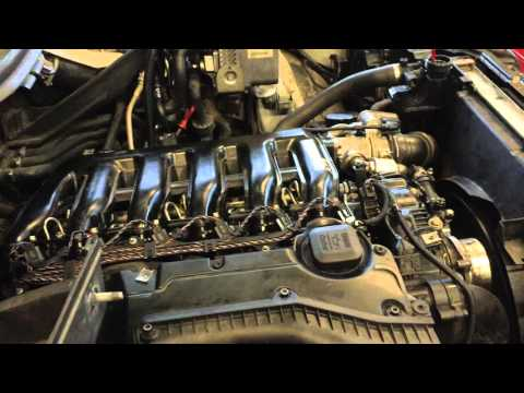 Bmw E53 X5 3 0d Motor Change And First Start Youtube