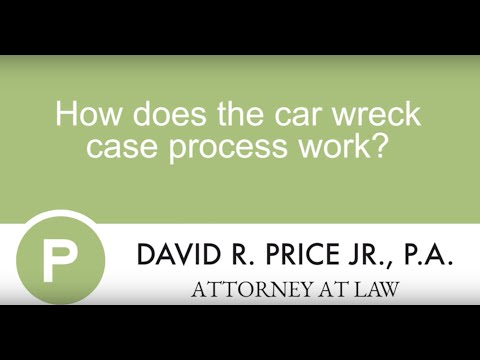 How Does The Car Accident Claims Process Work? | Greenville Car Accident Lawyer