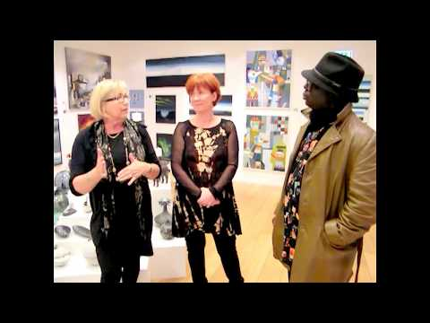 Andrew visits Iceland's Art Gallery 101