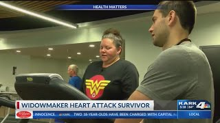 Health Matters: Widowmaker Heart Attack Survivor