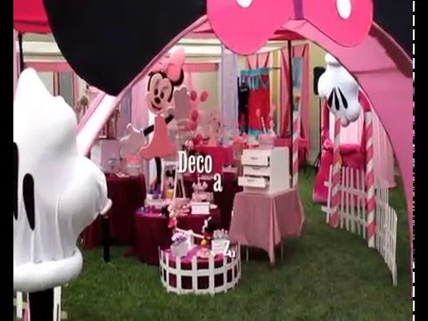 Fiestas infantiles minnie mouse decoracion de minnie - Decoracion de fiestas infantiles ...