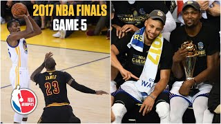 Full Game  Golden State Warriors Vs. Cleveland Cavaliers | 2017 Nba Finals Game 5 | Nba On Espn