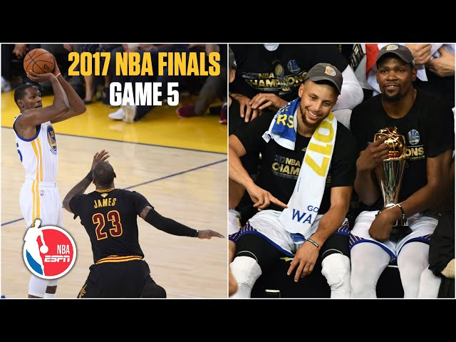[FULL GAME] Golden State Warriors vs. Cleveland Cavaliers | 2017 NBA Finals Game 5 | NBA on ESPN