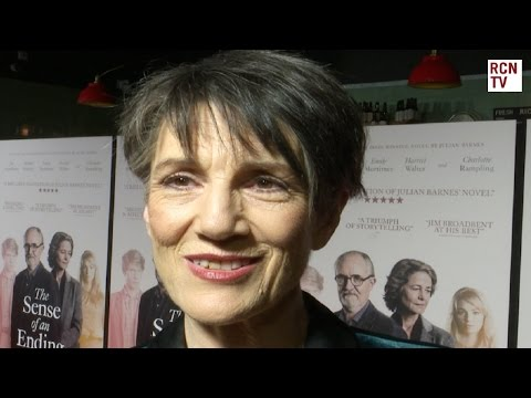 Harriet Walter  The Sense Of An Ending Premiere