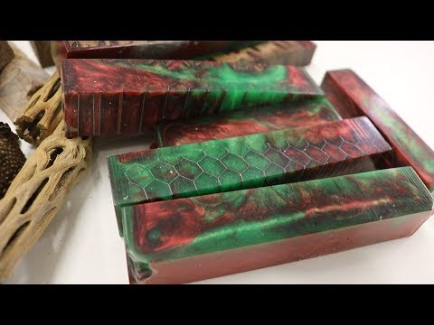 How to Cast Resin and Wood  Pen Blanks for Beginners