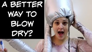 Contraption Test! Hair Dryer Bonnet Attachment from Groupon! ❤ Jen Luvs Reviews ❤